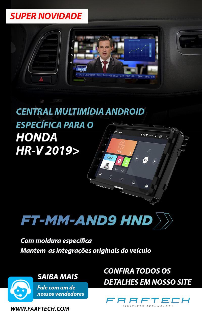 "Central Multimidia Android 10-9"" HR-V*"
